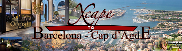 xcape to barcelona-cap d'agde,llvclub,luxury lifestyle vacations,swingers destinations